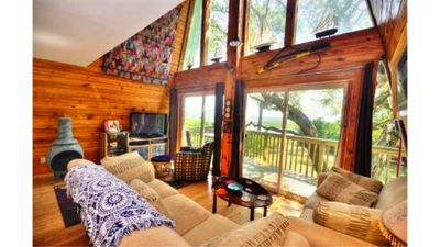 Photo for Waterfront-Private Setting w/Large Trees-Beautiful,3 Bdrm/ 2.5 Bathroom,Sleeps 6