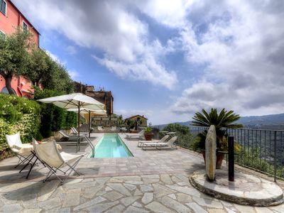 Photo for La Piazzetta suitable 4/ 5 people with shared pool & private Jacuzzi hot tub.
