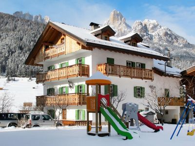 Photo for Apartment Casa Titol App.to Giuseppe (PFS472) in Pozza di Fassa - 7 persons, 2 bedrooms
