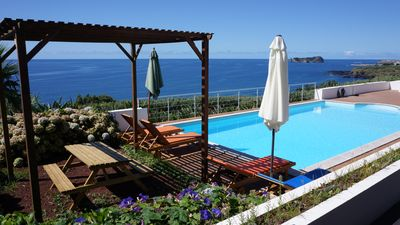Photo for Lagar Villa With Amazing Sea View And Natural Sea Water Swimming Pool