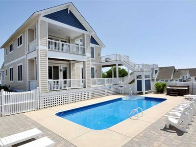 Photo for Shore To Please: Views of the ocean, private pool and hot tub, ping pong, gated community.