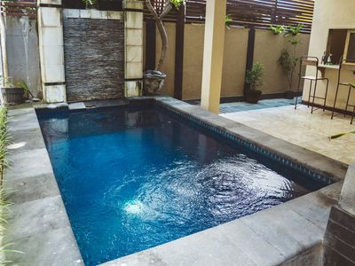 Photo for 2 bedroom house with pool near W central Seminyak