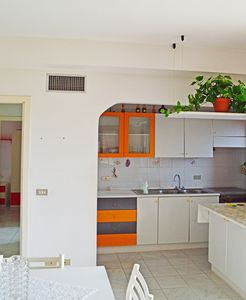 Photo for Apartment for 6 people with sea view terrace above Capo d'Orlando harbor