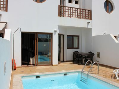 Photo for Villa in Costa Teguise with private pool. now with Wifi