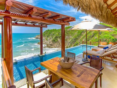 Photo for Luxury Beachfront Villa in Exclusive Resort Community