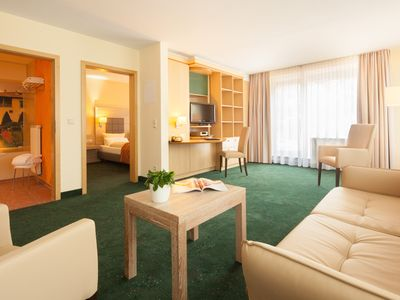 Photo for Suite Hotel Leipzig - Suite with kitchen / bathroom and 2 separate rooms