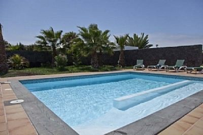 Photo for lovely large  Villa With Large Private Pool And Sea Views and real grass