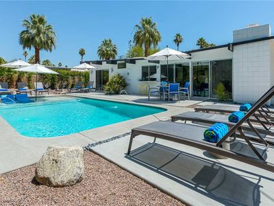 Photo for Discover your love for mid-century Palm Springs homes