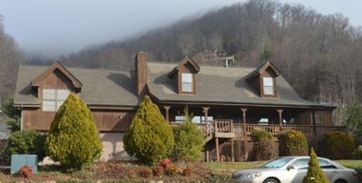 Photo for Majestic Grace is the place to sit on the rocking chair porch and enjoy the quiet Carolina mountains.