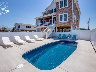 Photo for Catching Rays | 598 ft from the beach | Private Pool