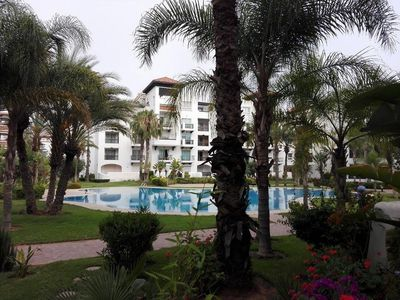 Photo for SUPERB APARTMENT 2CH TERRAS VIEW POOL 150M FROM THE BEACH AGADIR VERY TREK
