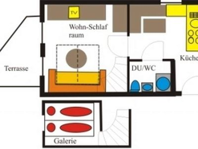"""Photo for Apartment """"Sara"""" / 1 bedroom / shower, WC - Reindl, apartment"""