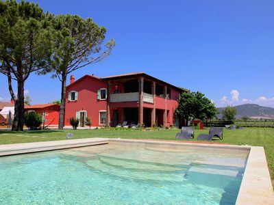 Photo for Agriturismo with swimming pool, large garden, wifi, near the sea