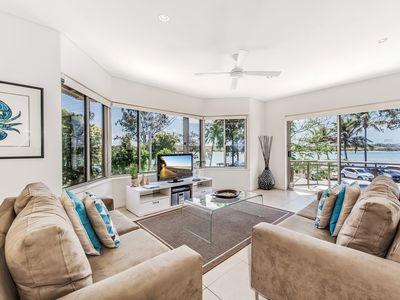 Photo for Aarons Villa 2 Riverfront  apartment Noosaville