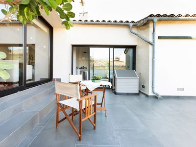 Photo for Fantastic Townhouse with Wi-Fi, Air Condition and Balcony with Panoramic View