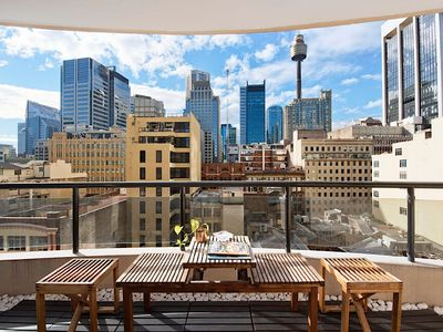 Photo for Contemporary 2 Bedroom 2 Bathroom apartment in the heart of the Sydney CBD