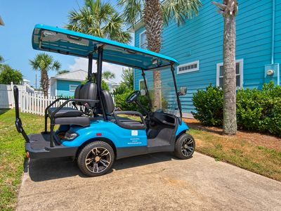 Photo for 3 Kings + Bunk Room~Free Golf Cart~1/2 Block to Beach~Heated Private Pool