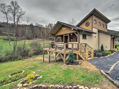 Photo for NEW-Cabin w/Hot Tub & Fire Pit-15 Min to Asheville