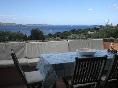 Photo for Superb apartment with sea and garden view