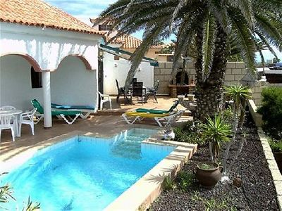 Photo for Vacation home Bungalow el Poris de Abona F  in Porís de ABONA, Tenerife - 9 persons, 4 bedrooms