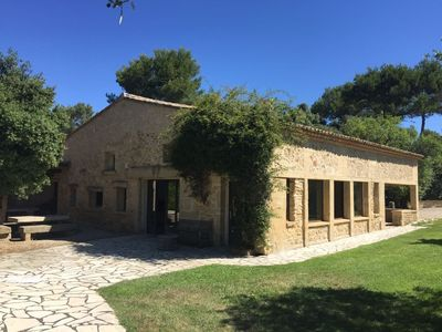 Photo for Old barn completely renovated on 4000m2 of land