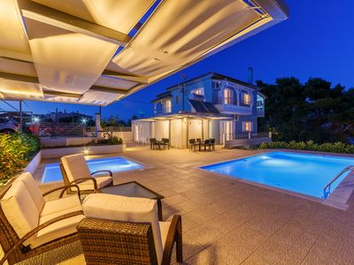 Photo for Friends & Family House near the beach with two swimming pools (one for children)