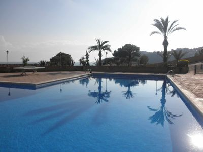 Photo for Apartment with pool and 5 private coves in Cala Llevadó, Tossa de Mar