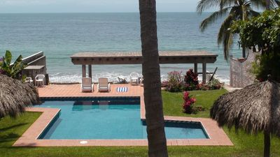 Photo for BEACHFRONT on a Budget! ~ Condo Sereno ~ Lowest Beachfront Rate!
