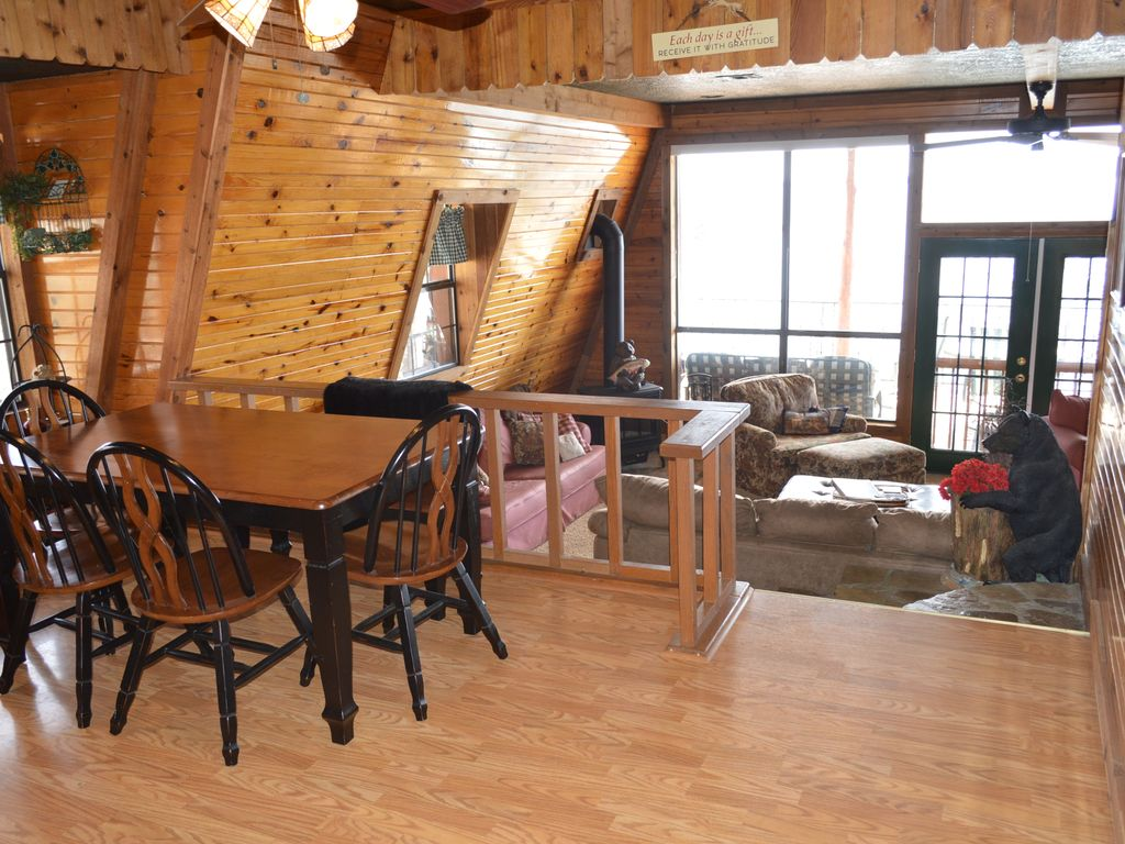Property Image#21 Lakefront!  True Lakefront Cabin With Dock