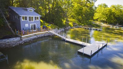 Photo for Newly Renovated Family Friendly Lake House on the Water's Edge. Boater's Dream!