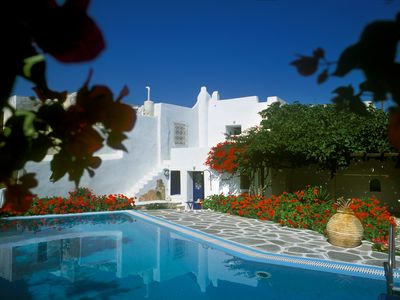 Photo for Traditional Pool Villa in the Center of Naoussa