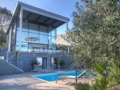 Photo for Architect Villa 5ch Private Heated Pool Marine de Davia