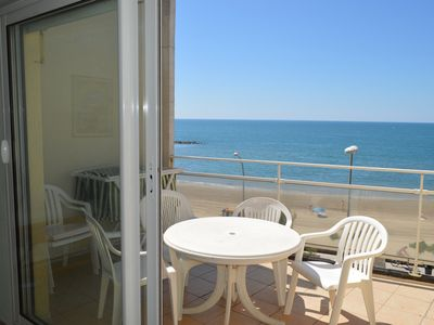 Photo for Amazing Mediterranean Views:  3rd floor apartment with open balcony (sleeps 4/6)