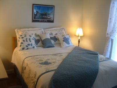 Master bedroom - very comfortable queen bed