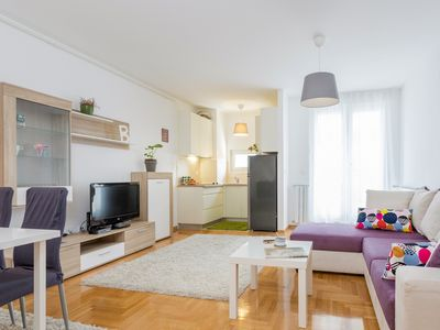Photo for Cute and Sunny Studio in Zagreb with Balcony and Free Garage