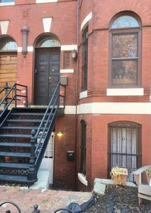 Photo for Master Suite in Charming Victorian Townhome (No. 1)