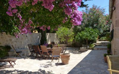 Photo for Villa on the edge of a medieval town near Dubrovnik, 5-minute walk to the beach