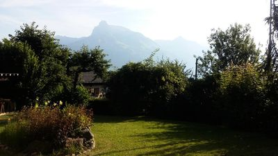 Photo for Family Chalet with view of Mont Blanc - 5 room flat 8 people