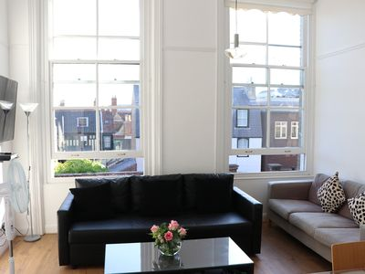Photo for On the Quay - gorgeous sleeps 4 flat in iconic listed waterfront building