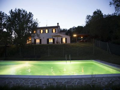 Photo for Villa with private pool between Urbino and the Adriatic coast