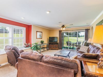 Photo for Beautiful Ground Floor Condo with Golf View near Indoor Pool - Updated photos!