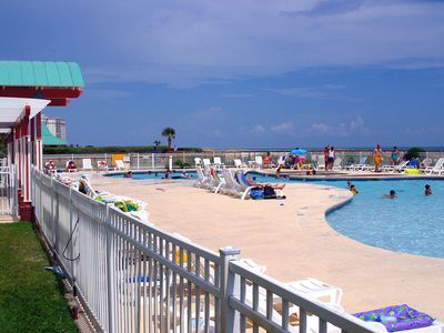 Photo for NEW LISTING! Beachside condo w/shared pool & hot tub - historic attractions