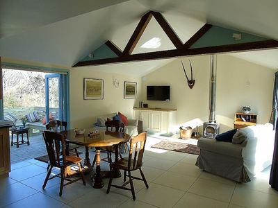 Photo for Rural Retreat with glorious views, I hour from London.  4* Gold Visit England