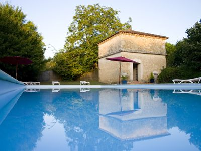 "Photo for Gîte ""Le Folle Blanche"" - large swimming pool - large park of 4 hectares"