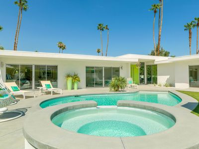 Photo for 'California Palms' 4BR/4.5BA, MidCentury Dream, Private Pool, South Palm Springs, Sleeps 8