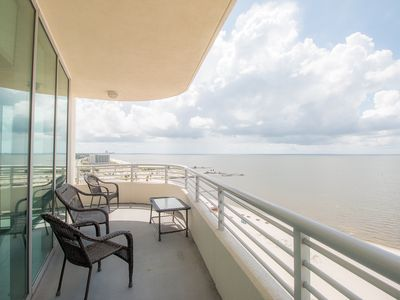 Photo for Deluxe Condo near Beach w/ WiFi, Complex Pool & Gym Access