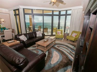 Living Room 2-Phoenix West II 409-Orange Beach, AL