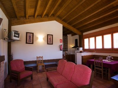 Photo for Rural apartment El Cerrete de Haro Rural Tourism Center for 4 people