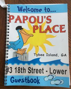We can't wait to have you as our guest at  Papou's Place.  Join us at the beach!