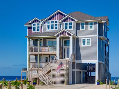 Photo for Waterfront Pamlico Sound  Luxurious Resort Home ~  pool, elevator, modern design